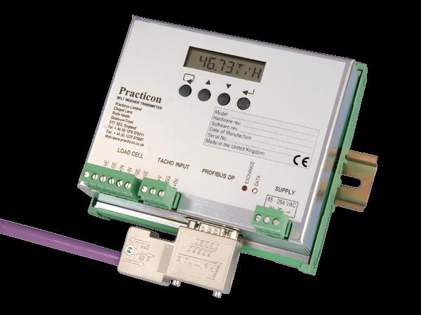 pr426p Belt Weigher Din Rail Profibus Transmitter