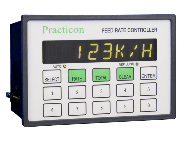 pr448 Feed Rate Controller Loss in Weight